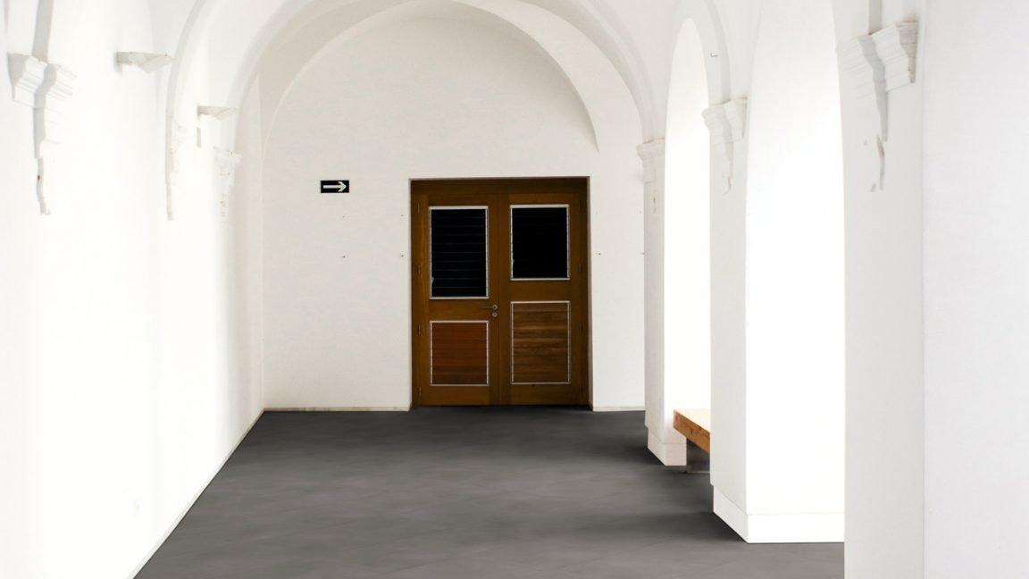 Korridor im altmodischen Stil