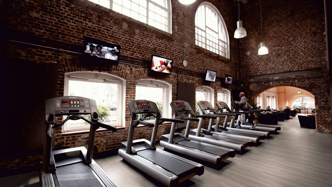 Vinyl Bodenbelag im Fitnessstudio