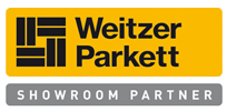 weitzer parkett showroom partner logo