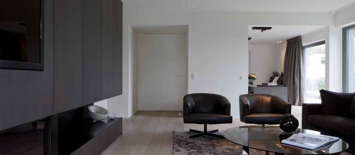 Wohnzimmer Parkett aus dem Projekt Bracknier Antwerp